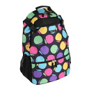 Hanna Hula (Hannah Fra) backpack | Colorful apple 10P01Feb14