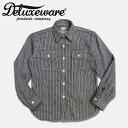 Deluxeware ( デラックスウエアー ) ヒッコリーネル shirt Hickory