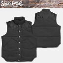 Oriental Enterprise Sugar Cane (シュガーケン ) BBK down vest charcoal grey