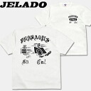 JELADO (Gerard ) short sleeve T shirt White
