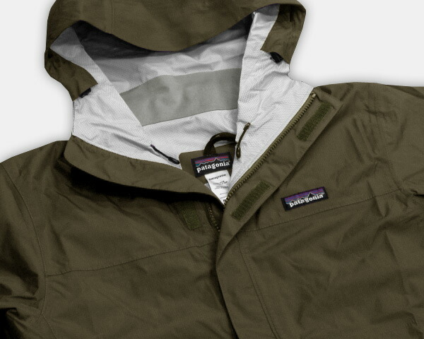 Patagonia Torrentshell Alpha Green