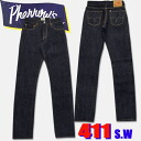 ★ Pherrow's ( Fellows ) ★ Buffalo-Horn-stitch denim