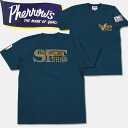 PHERROW'S (Fellowes) short sleeves T-shirt steel blue