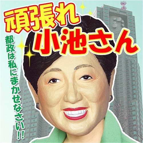 がんばれ小池さん 小池百合子 東京都知事