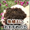 地植えにおすすめの土