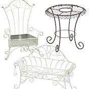 ワイヤー花器(家具)