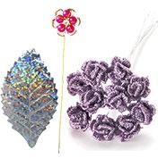 造花:リーフ&アクセサリーフラワー