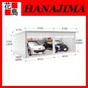 ★ Inova garage galada GR-148 HL-2 hairuhmodel heavy snowfall area type small 2-car class for parking sheds garden exterior DIY Inaba seisakusho