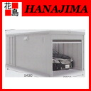 [Inova garage: Chaco parte KR-140 H high-roof model general type depth extended garage KR parking sheds Garden parking parking space area to install exterior DIY Inaba seisakusho