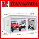 Inova garage galada new GR-1612H/1216H high roof model heavy snowfall area type: combination type ( parking sheds a single + alpha )] Garden parking parking space area in the installation exterior DIY Inaba seisakusho]