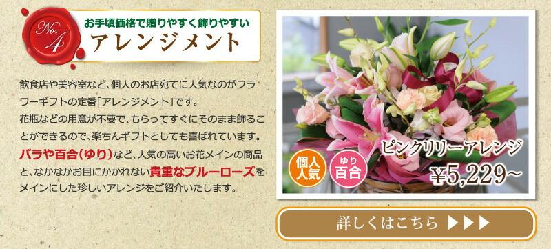 開店、開業祝いに送る花。スタンド花、胡蝶蘭、寄せ鉢、アレンジメント等
