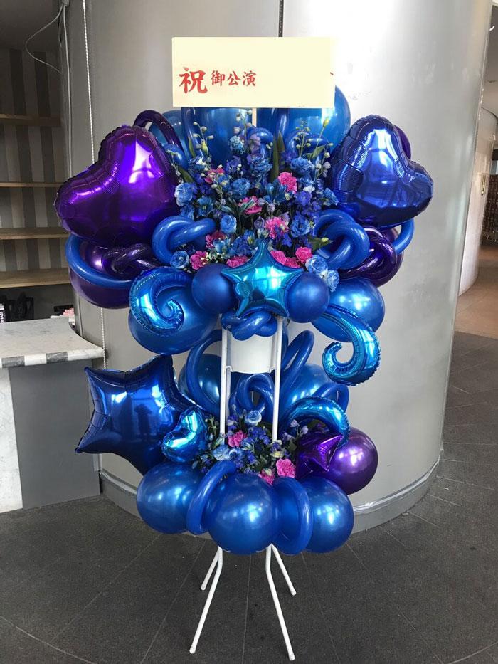 アイドルのイベント祝い花