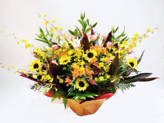 誕生日祝いのお花