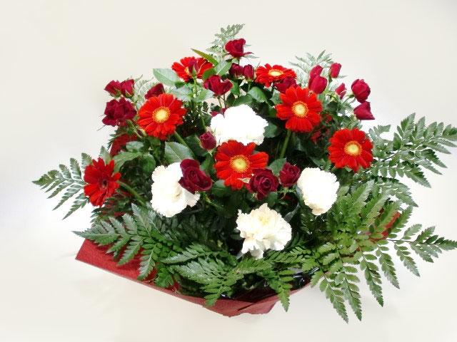 舞台記念に贈る花