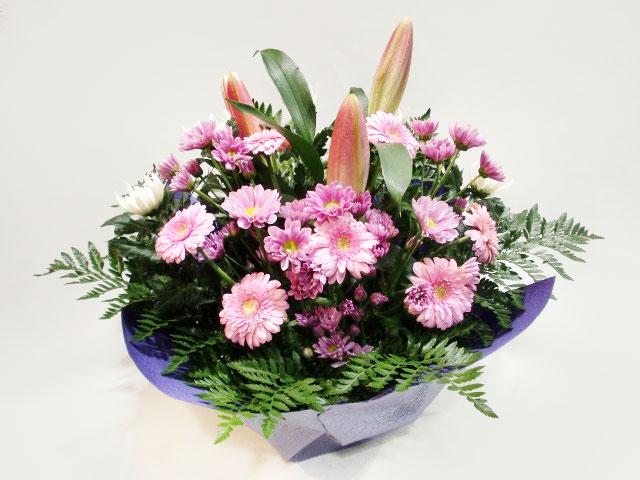 ピンク系花