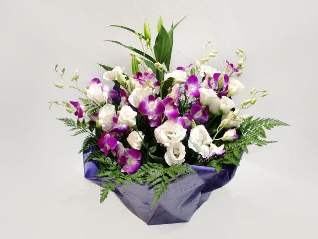 白、紫系 お供えお花