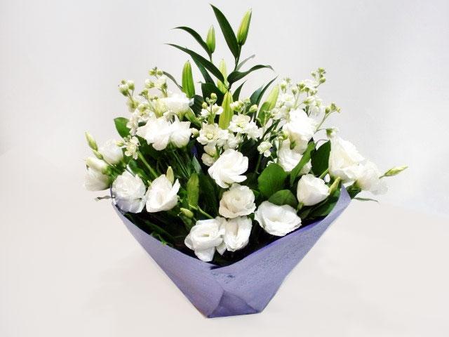 白上がり お供えのお花