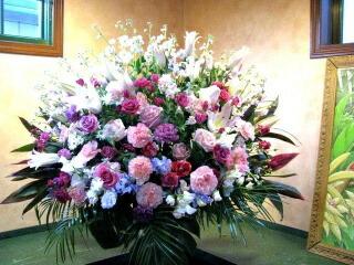 出演祝いのお花