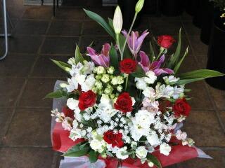 お誕生日祝いに贈る花
