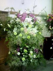 お通夜、お葬式のお花
