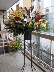 オープニングセレモニー、竣工式、式典、お祝いスタンド花