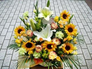 お祝い用お花のプレゼント