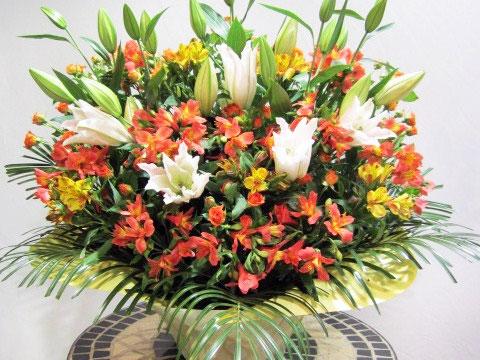 公演記念に贈る花