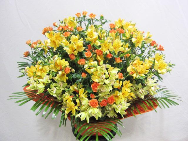 お祝い用アレンジメント花