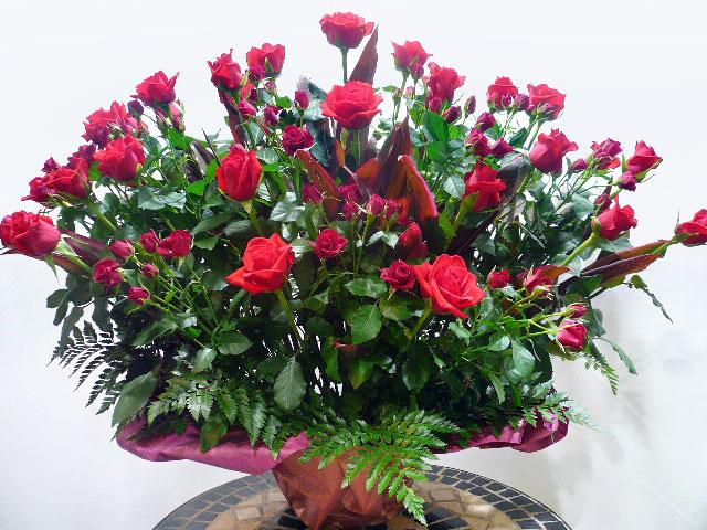 お祝いアレンジメント花