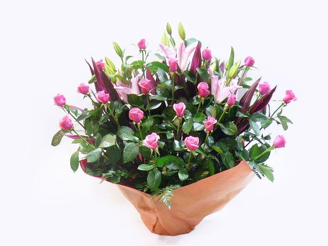 新装開店へ贈る花