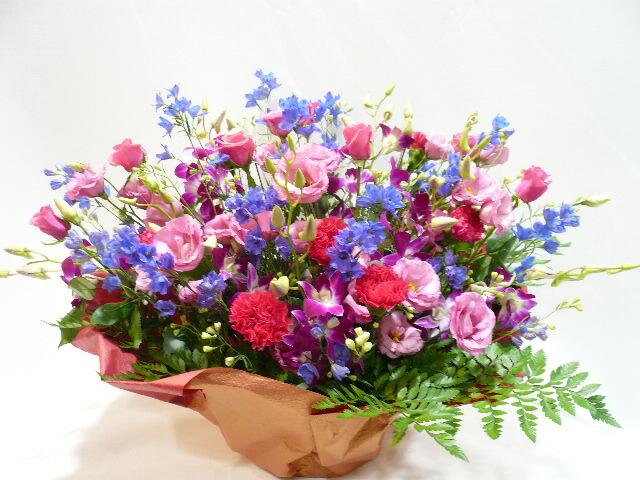 出展祝いのお花