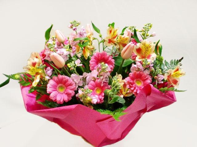 誕生日を祝うお花