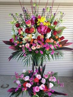 取引先企業様へのビジネス用祝い花