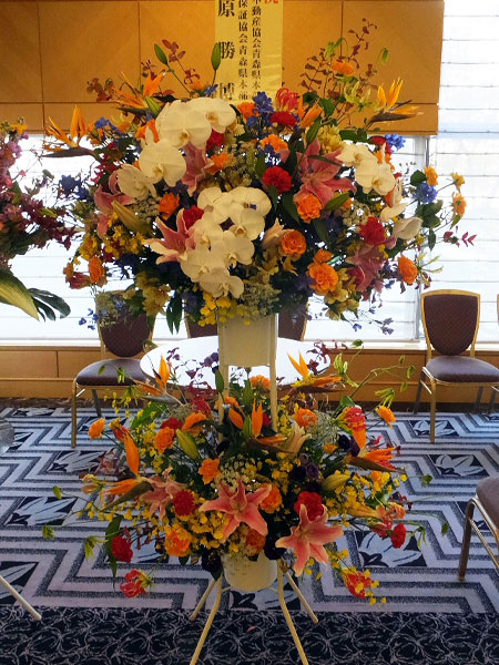 ビジネス用祝い花