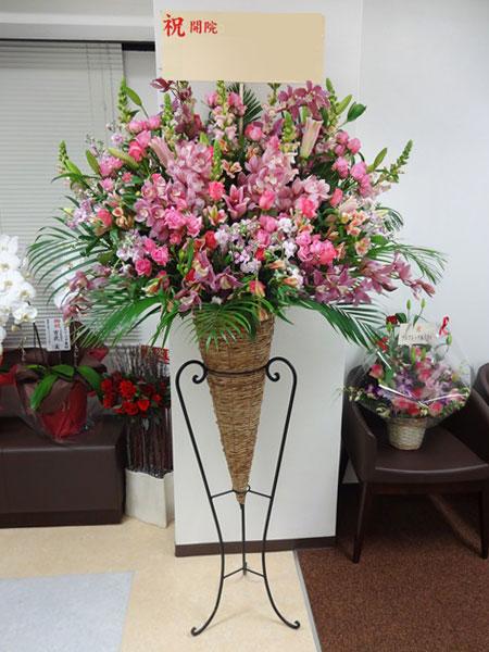 ビジネス 花贈り