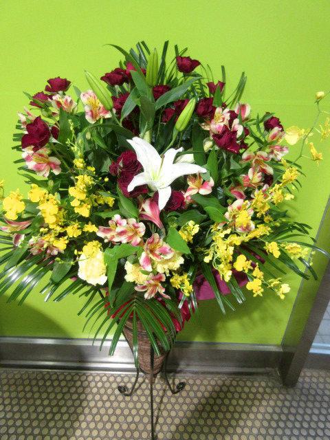 移転祝に贈る花
