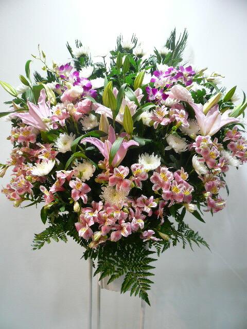 お葬式に贈るお花