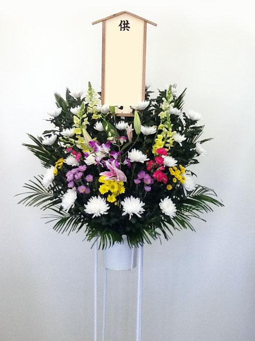 斎場への花