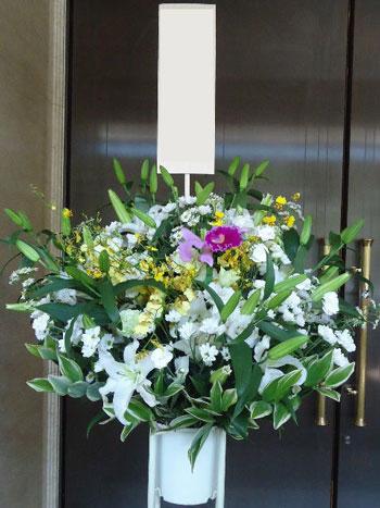 葬儀のための花