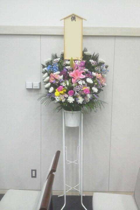 葬儀に送る花