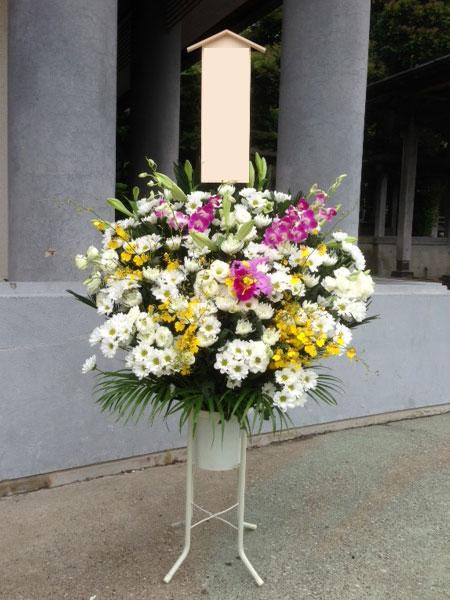 葬儀 スタンド花