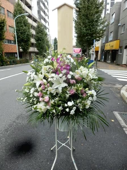 お葬式のためのお花
