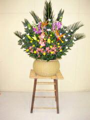 即日届け告別式用花