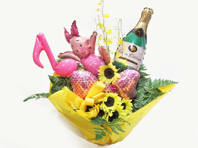 キャバクラ 誕生日祝いに贈る 風船花