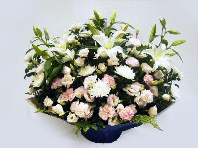 ピンク、ホワイト系 供養花