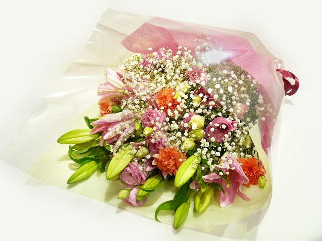 ピンク系 花束