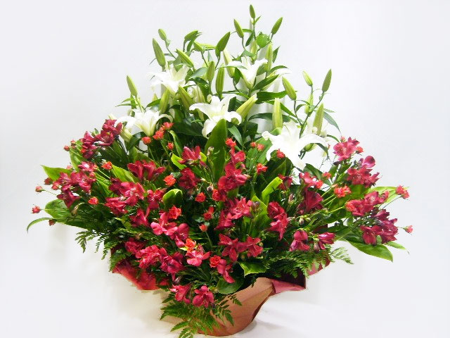 お誕生日祝いのお花