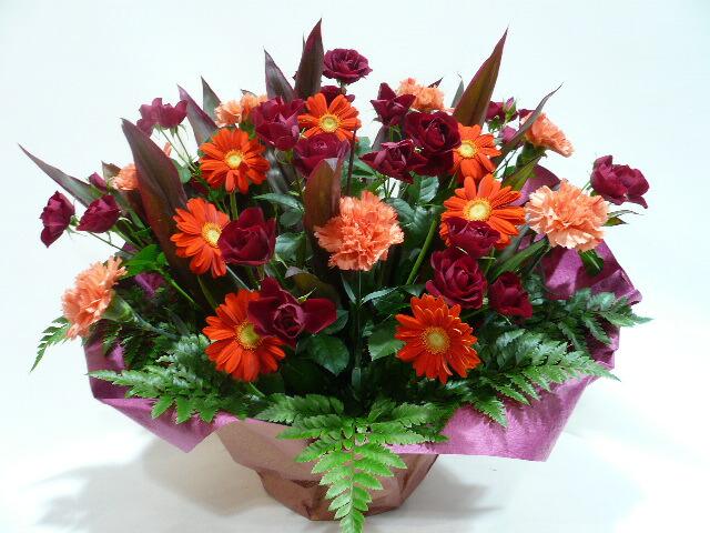 出演祝いに贈る花
