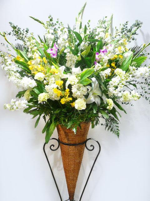 竣工式、オープニングセレモニー、取引先企業様へのビジネス用祝い花