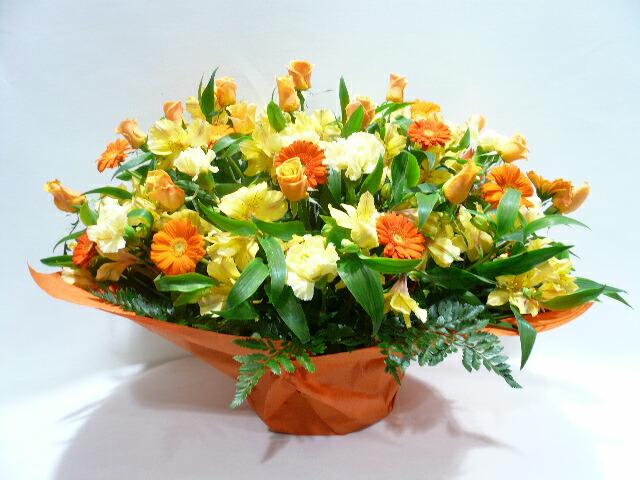 展覧会開催への贈り花